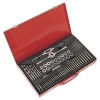 76pc Tap & Die Set Split Dies - Metric